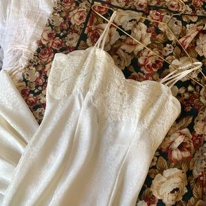 Vintage VS Maxi Lace Nightie